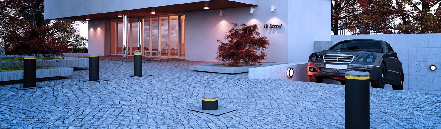 immagineJ2001 - Traffic Bollards - Vehicle Access Control System